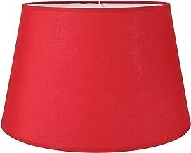 24x22cm Paralume in tessuto E27 Made in Europe 20 cm 25 cm 30 cm paralume in tessuto lampada da tavolo conica bianco marrone grigio lampada a sospensione bianco