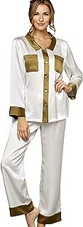 Women's My Newest Crush 100% Silk Pajamas, Sleepwear, Lingerie, Beautiful Gift Packaging