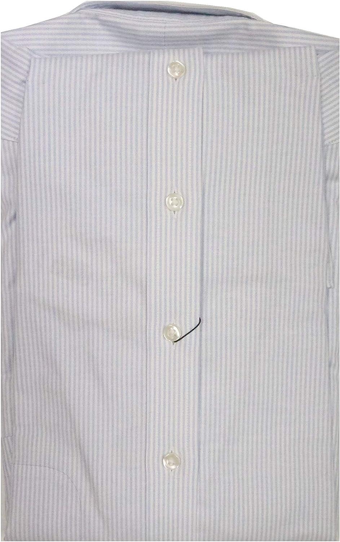 Gold Label Roundtree & Yorke Non-Iron Big Tall Regular Button Down Stripe Dress Shirt G16A0012 Blue/White