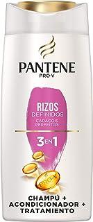 Pantene Pro-V Rizos Definidos Champú Acondicionador y Tratamiento 3 En 1 Para Rizos Brillantes y Flexibles 675 ml