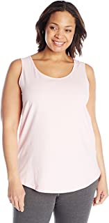 Women's Plus-Size Shirt-Tail Tank Top