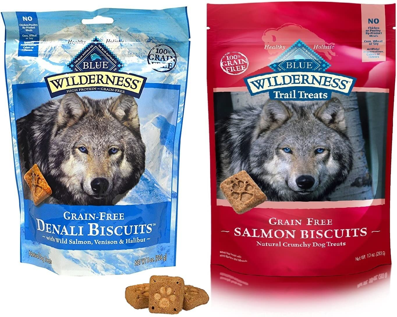 Wholesale Blue Buffalo Wilderness Dog Treat Variety - Denal Award-winning store Flavors Pack 2