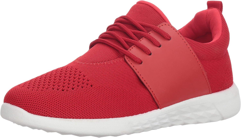 MIA Women's Christan Sneaker, Red, 7 Medium US