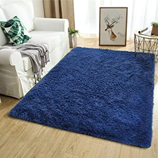 Softlife Fluffy Area Rugs for Bedroom 5.3' x 7.6' Shaggy...