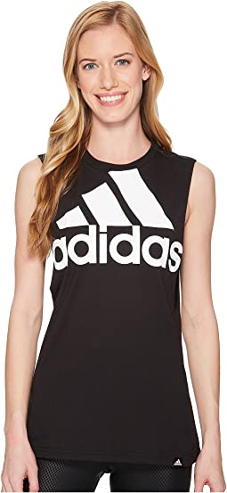 adidas - Badge of Sport Hack Muscle Tank Top