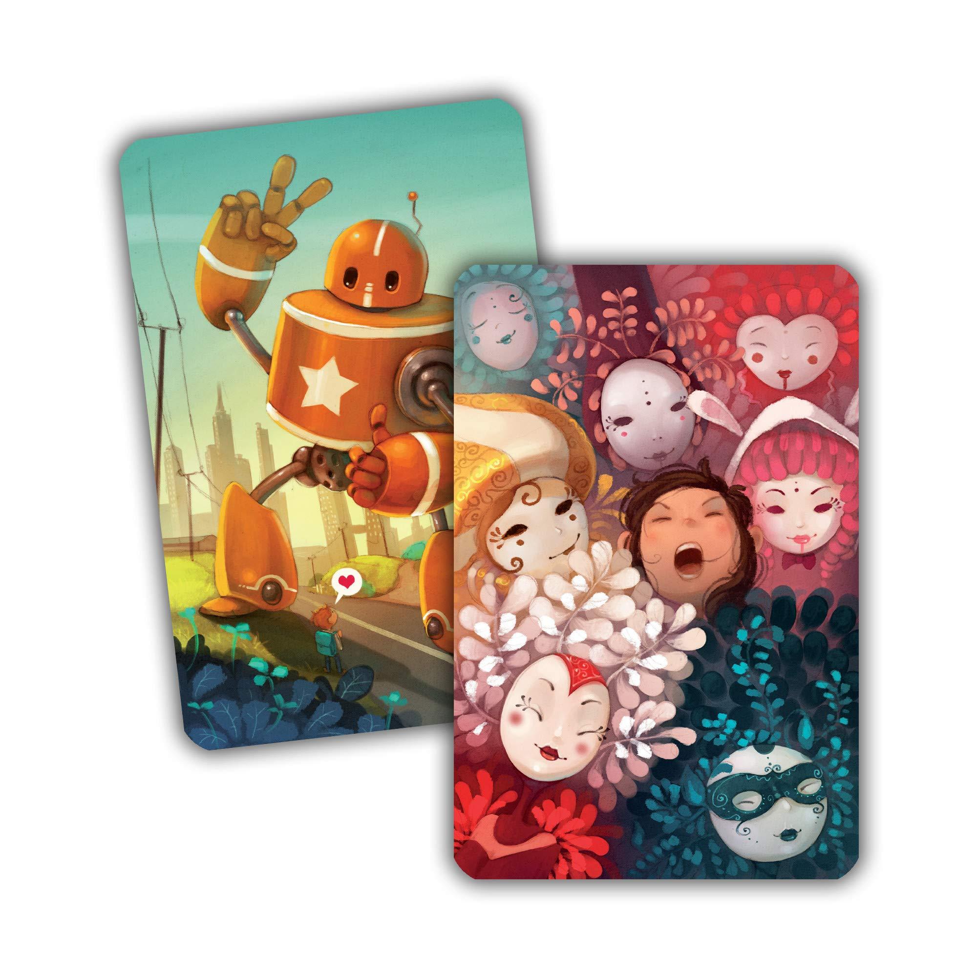 Libellud ASMDIX08US Dixit Expansion 6: Memories, Colores Mezclados: Amazon.es: Juguetes y juegos