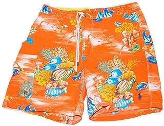 Polo Mens Hawaiian Beach Floral Fish Swim Suit Trunks...