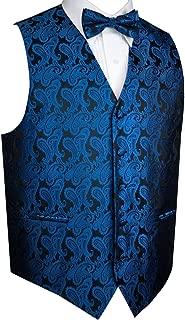 Men's Tuxedo Vest and Bow-Tie Set