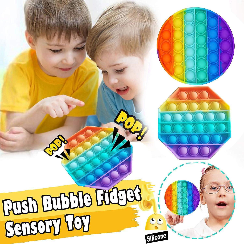 NANHEI Children's Decompression Silicone Toy-Round