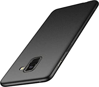 Anccer Samsung Galaxy A8 Plus 2018 Case [Ultra-Thin] [Anti-Stain] [Anti-Drop] Premium Material Slim Full Protection Cover (Not for Galaxy A8) (Matty Gray)