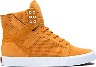 Supra Footwear - Skytop High Top Skate Shoes,  Desert-White,  12.5 M US Women/11 M US Men