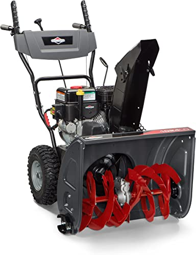 """lowest Briggs & wholesale Stratton 24"""" Dual-Stage sale Snow Blower with Electric Start and 208 Snow Series Engine, 1024 (1696610) outlet sale"""