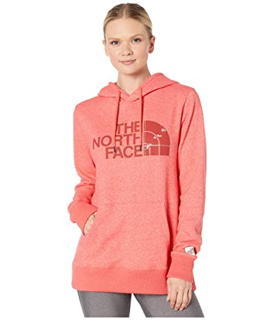 The North Face Recycled Materials Pullover Hoodie (Cayenne Red Heather) Women