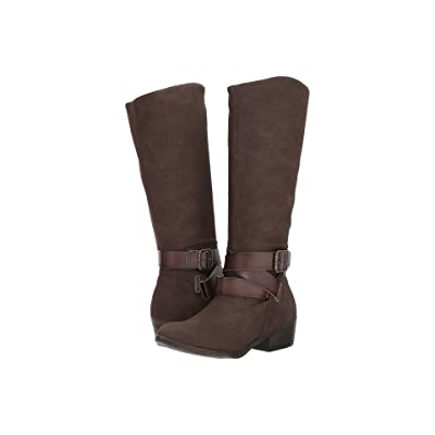 Blowfish Sharpshooter (Chocolate Sport Suede/Dyecut) Women