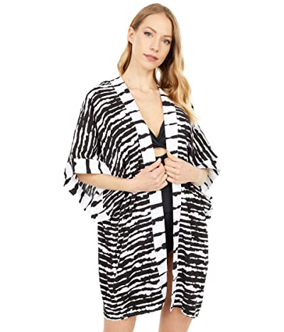La Blanca Elemental Balance Kimono Cover-Up