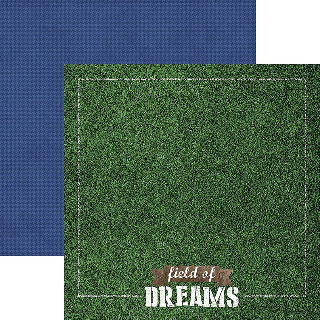 Paper House Productions P-2059E Field of Dreams Sports Double-Sided Cardstock, 12