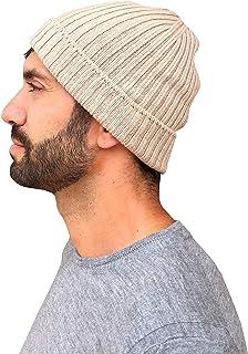 Berretto Cashmere Uomo Invernale, Cappello Uomo Caldo