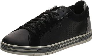 Geox U Eolo B, Low Sneakers Men, Nero (