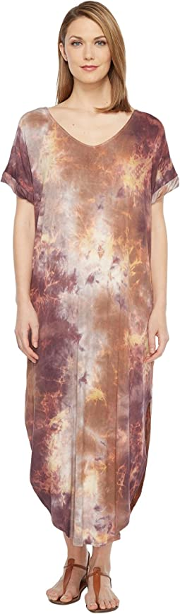 Culture Phit - Tay Short Sleeve Tie-Dye Maxi Dress