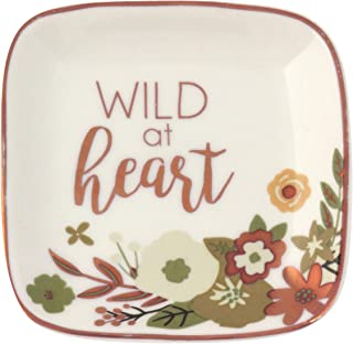 Karma Gifts Small Square Trinket Tray, Wild