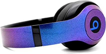 Beats by Dre Studio 3 Wireless - Custom Painted Dr. Dre Bluetooth Headset - (Chameleon Blue/Purple)