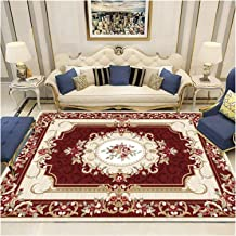 Area Rug for Traditional Living Room Rugs Bohemian Vintage Distressed Oriental Carpets Bedroom Pad (Color : E, Size : 40x6...