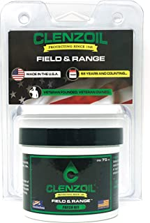 Clenzoil Field and Range CLP Cleaner Lubricant Protective Pre Saturated Gun Cleaning Patch Kit