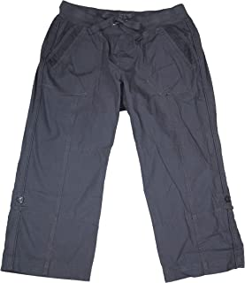 Performance Womens Convertible Cargo Capri Pants