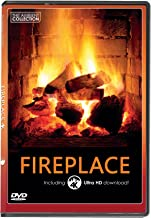 FIRE DVD | FIREPLACE with 4K ULTRA HD Download of Long Wood Fires with Burning Wood Sounds
