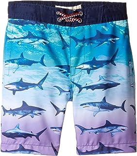 [アッパマン] Appaman Kids ボーイズ Blacktip Shark Swim Trunks (Toddler/Little Kids/Big Kids) 水着 [並行輸入品]