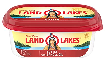 Land O Lakes Butter with Canola Oil, 8 oz.