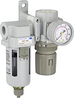 PneumaticPlus SAU320-N03G Compressed Air Filter Regulator Combo 3/8