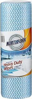 NORTHFORK 631254641 Heavy Duty Antibacterial Perforated Wipe, PK50