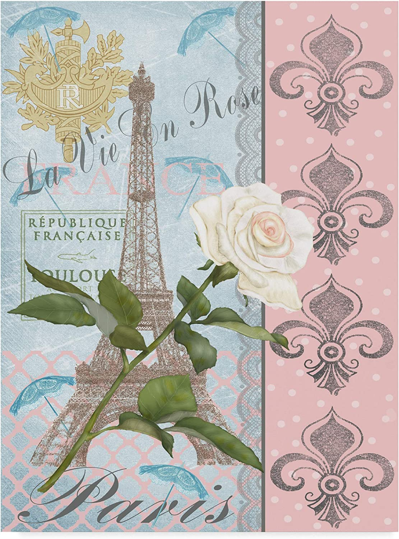 Trademark Fine Art La Vie en pink I by Jade Reynolds, 14x19
