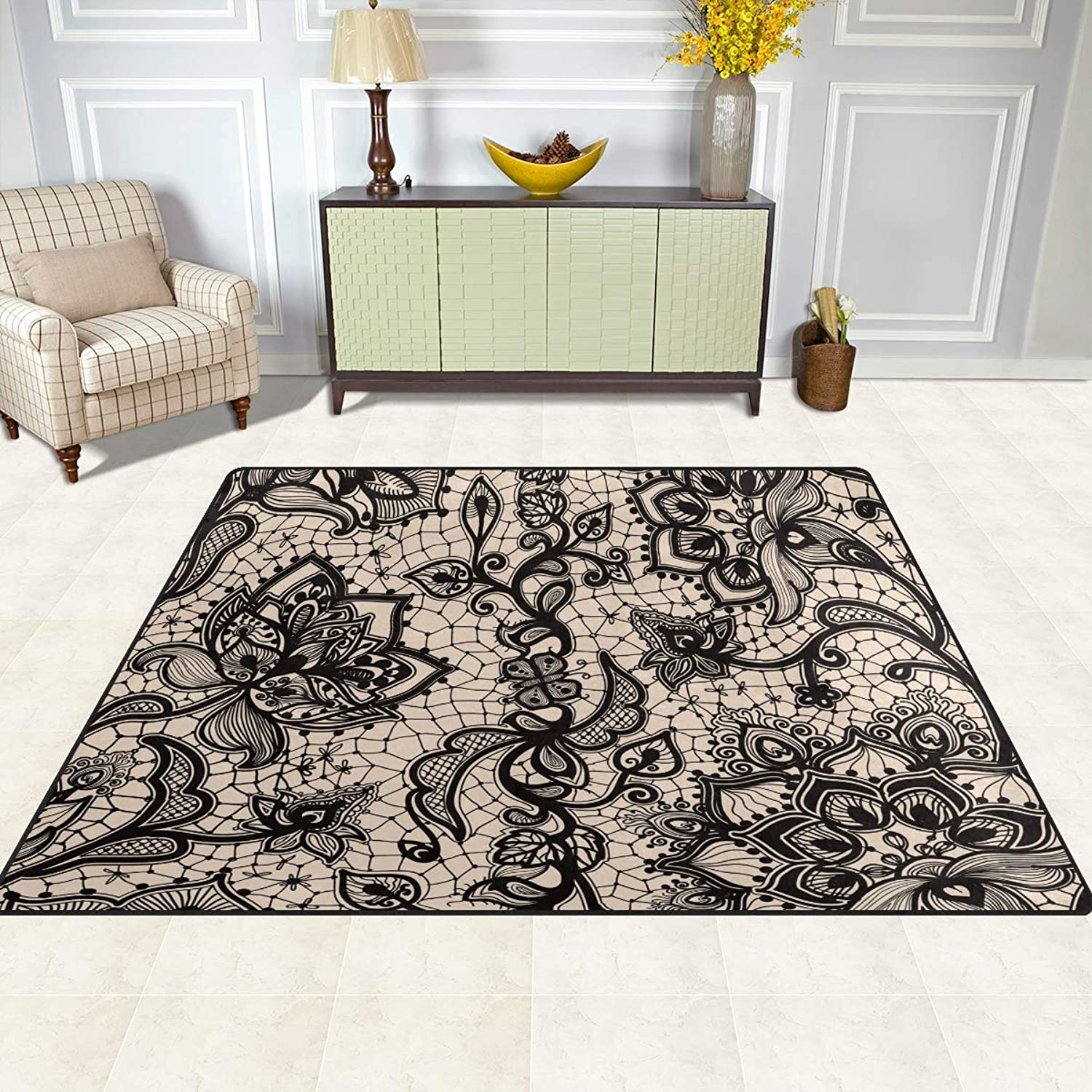 FAJRO Vintage European Flowers Rugs for entryway Doormat Area Rug Multipattern Door Mat shoes Scraper Home Dec Anti-Slip Indoor Outdoor