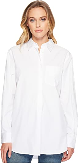 LAUREN Ralph Lauren - Oversized Cotton Poplin Shirt