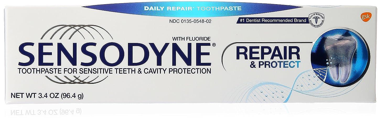 減る維持する知覚できる海外直送品Sensodyne Repair and Protect Pronamel Toothpaste, 3.4 oz by Sensodyne
