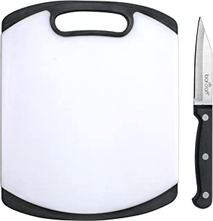 BarCraft Cutting Board and Knife Set