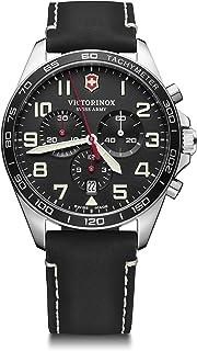 Victorinox - Hombre Field Force Chronograph - Reloj de Acero Inoxidable de Cuarzo analógico de fabricación Suiza 241852
