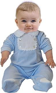 Push2Posh Newborn Baby BOY Cotton Velour Footie Pajamas Sleeper Babysuit Babygrow