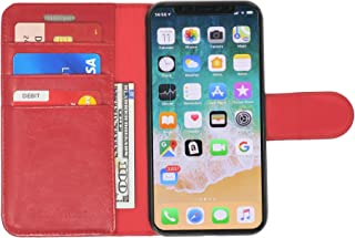 RadiArmor Anti-Radiation Case - Compatible with iPhone X and Xs – Lab Certified EMF Protection (Red)