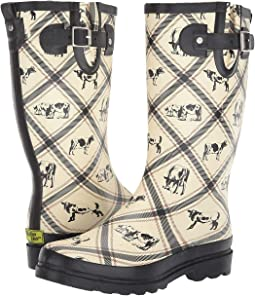 Country Cows Rain Boot