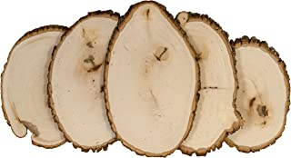 Walnut Hollow Bulk Value Pack Basswood Country Round, Small for Home Décor and Rustic Weddings