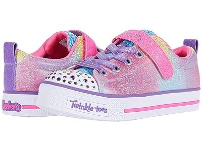 SKECHERS KIDS Twinkle Toes Twinkle Lite 314049L (Little Kid) (Hot Pink/Multi) Girl