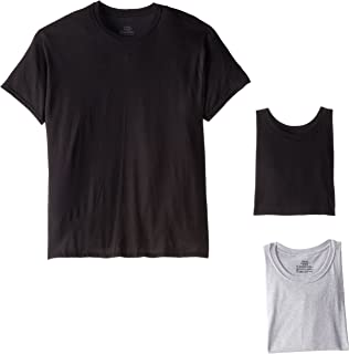 Hanes Men's 4-Pack Comfortsoft Dyed Crew