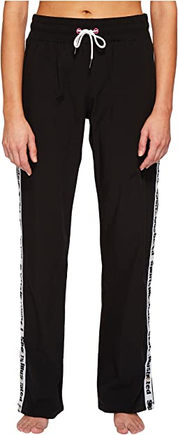 Sports Illustrated Wide Leg Snap Sides Pant Cover-Up