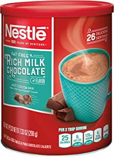 Nestle Hot Cocoa Mix, Fat Free, 7.33-Ounce Canisters (Pack of 4