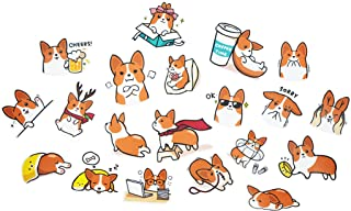 Nayothecorgi Corgi Theme Plastic LINE Sticker Set (Set 2)
