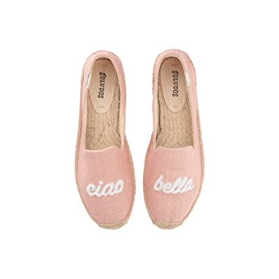 Soludos Ciao Bella Smoking Slipper (Dusty Rose) Women