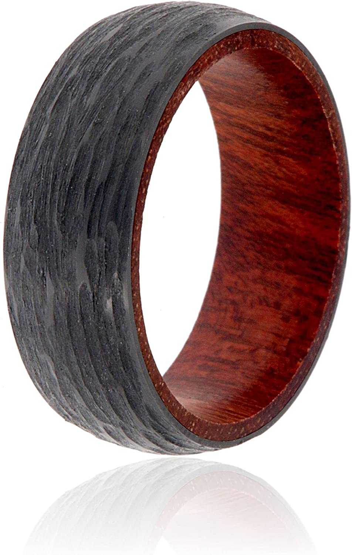 The Jewelry Source Mens Black Wedding Ring Max 42% OFF 5 ☆ very popular Band Zirconium